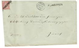 Helvetia 10 C Rouge 1873 Klein Andelfingen Zurich - Unclassified