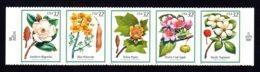 ETATS-UNIS / USA 1998 - Yvert #2710/2714 - Scott #3193/3197 - Neufs ** / MNH - Flore, Fleurs D'arbres - Nuevos