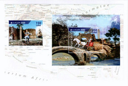 Albania Stamps 2020. Europa CEPT: Ancient Postal Routes. Booklet MNH - Albania