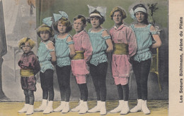 'Les Soeurs Buhlmann' Girls And Boys Gymnasts Dancers Performers Piltate's Arena, C1910s/20s Vintage Postcard - Circus