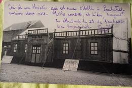 Saulnières. 28 . Rare Carte Théâtre Ambulant. Lamberty Massons  . Pièce Napoléon - Non Classés