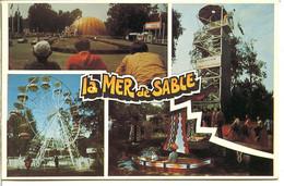 60950 ERMENONVILLE - La Mer De Sable - Le Centre De Loisirs époque Jean Richard - Grande Roue, Tour De Parachutisme - Ermenonville