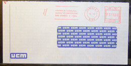 Belgium - Advertising Meter Franking Cover Lot (2) EMA 1996 - 2000 Jambes Ucm Formation Training In The Middle Classes - 1980-99