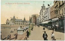 La Digue Et Le Kursaal, Ostende - Oostende