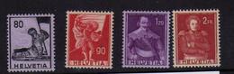 Suisse (1941)-  Serie Historique - Neufs** - MNH - Unused Stamps