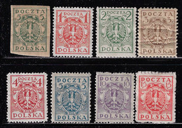 POLAND 1919-1920 MINT STAMPS - Unused Stamps