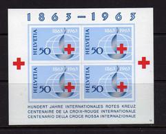 Suisse (1963)-  BF   Centenaire De La Croix-Rouge  - Neufs** - MNH - Blocks & Kleinbögen