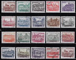 POLAND 1960-1961 CANCELLED STAMPS SCOTT 947...965 (SEE LISTING) - Gebruikt