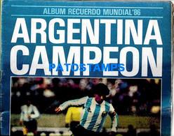 154527 ARGENTINA SPORTS SOCCER FUTBOL MUNDIAL 1986 MARADONA ALBUM NO POSTAL POSTCARD - [2] 1981-1990