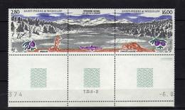 St Pierre Et Miquelon  (1993) -   Faune  -  Neufs** - MNH - Neufs