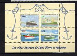 St Pierre Et Miquelon  (1994) -  Vieux Bateaux  -  Neufs** - MNH - Neufs
