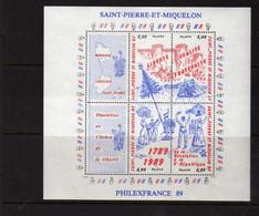 St Pierre Et Miquelon  (1989) -  Bicentenaire De La Revolution -   Neufs** - MNH - Neufs