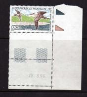St Pierre Et Miquelon  (1996) -  Oiseaux - Le Courlis  -   Neufs** - MNH - Neufs
