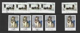 Australian Antarctic Territory 1994 Husky Dogs 75c & 85c Values X 5 Each VFU - Sin Clasificación