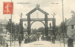 """/ CPA FRANCE 18 """"Henrichemont, Comice 1908, Librairie Boureux"""" - Henrichemont"""