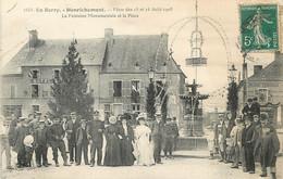 """/ CPA FRANCE 18 """"Henrichemont, Fêtes Des 15 Et 16 Août 1908"""" - Henrichemont"""