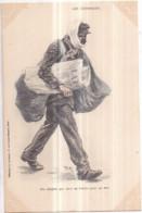 """Petit Métier - LES JOURNAUX : """"Un Citoyen Qui Vend Sa Patrie Pour Un Sou"""" - Héliotypie E. LE DELEY, 73 R. Claude Bernard - Vendedores Ambulantes"""