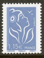 N° 3970 Marianne De Lamouche Valeur Faciale 1,15 € - 2004-08 Marianne De Lamouche