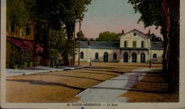 51-STE-MENEHOULD..LA GARE....CPA - Sainte-Menehould