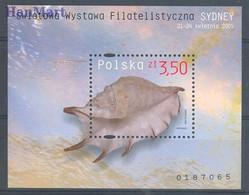 Poland 2005 Mi Bl 161 Fi Bl 192B MNH ( ZE4 PLDbl161A ) - Zonder Classificatie