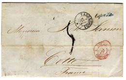 44178 - De TARRAGONA Pour La France - Briefe U. Dokumente