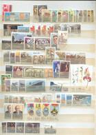 Col 305 - AFS - 75 Timbres Qualité **  -  3 Blocs Feuillet ** - Collections, Lots & Séries