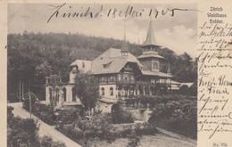 1905: Ansichtskarte Zürich - Waldhaus Dolder Nach Tuttlingen - Lettere