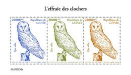 Guinea 2020 Fauna  Barn Owl  S202101 - Guinea (1958-...)
