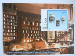 Belgie Belgique 1994 Punt Tussen 11 Point Entre 11 Apotheek Museum Musée Pharmacie Potten Delft Pots BL 69 2568 MNH ** - Unclassified