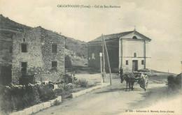 CALCATOGGIO   Col De SAN BASTIANO  Collection Moretti  283  ( Attelage ) - Other Municipalities
