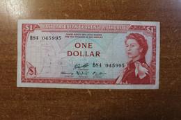 Eastern Caribbean 1 Dollar 1965 RK - East Carribeans