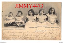 CPA - Luxembourg, Den En 1902 - 5 Princesses Du Grand Duché - N° 18 - Edit. Charles Bernhoeft - Famiglia Reale