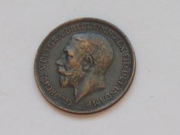 GRANDE BRETAGNE - Farthing 1916  GEORGES V   **** EN  ACHAT  IMMEDIAT **** - B. 1 Farthing