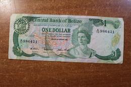 Belize 1 Dollar 1987 RK - Belize