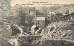 22 SAINT BRIEUC #21473 LES TROIS PONTS DE GOUEDIC - Saint-Brieuc