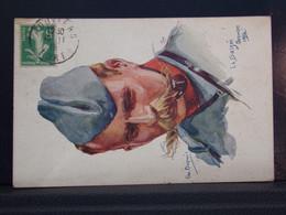 321 . MILITARIA . LA BASSEE . EM. DUPUIS . SOLDAT AVEC PIPE . 1915 - War 1914-18