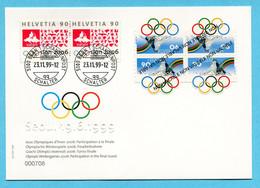 Seoul 19.6.1999 - Sonderausgabe Nicht Verausgabt Olympische Winterspiele 2006 - Covers & Documents