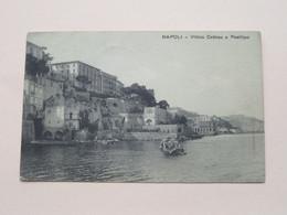 Villino Cottrau A Posillipo NAPOLI ( Ragozino ) Anno 1914 ( See / Voir Photo ) ! - Napoli (Naples)