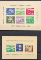Mdf_ Berlin - Entwürfe Luftpostmarken - Postfrisch MNH - Lettres & Documents