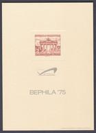 Mdf_ Berlin - Mi.Nr. 59 - Erinnerungsblock Mit Eingeprägtem Markenbild Auf Manilakarton - Lettres & Documents