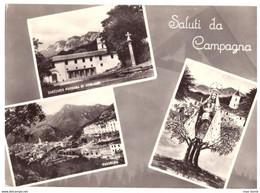 1963 CAMPAGNA (SALERNO)  SALUTI DA - Salerno