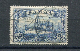 Kolonie Samoa Mi Nr. 17 Gestempelt Und Geprüft - Colony: Samoa