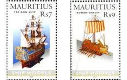 Ref. 642667 * MNH * - MAURITIUS. 2005. MODEL SHIPS . MAQUETAS DE BARCOS - Maurice (1968-...)