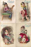 CHROMO CIBILS 1-13-1 (A)-CHILDREN*GRIMMI & HEMPEL 6 STUKS FRANS - Other