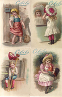 CHROMO CIBILS 1-13-1 (B)-CHILDREN*GRIMMI & HEMPEL 6 STUKS FRANS - Other