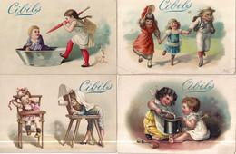CHROMO CIBILS 1-13-1 (D)-CHILDREN*GRIMMI & HEMPEL-5 STUKS FRANS - Other