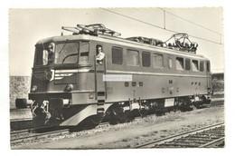 Bundesbahnen - Elektrische Lokomotive Der Schweiz - C1950's Switzerland Railway Real Photo Postcard - Treni