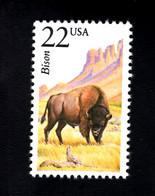 1205899243  1987 SCOTT 2320 (XX)  POSTFRIS  MINT NEVER HINGED EINWANDFREI -  NORT AMERICAN WILDLIFE- BISON - Unused Stamps