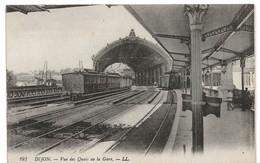 Dijon : Vue Des Quais De La Gare (Editeur Lévy Fils Et Cie, Paris, LL N°191) - Dijon