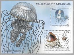 R20 - Bloc Feuillet De 2021 - MEDUSES De L' OCEAN AUSTRAL - Faune - - Neufs